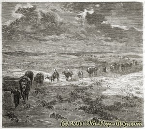 Gobi_Desert - 19th_century_engraving
