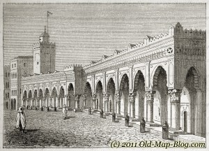 Mosque_in_Algiers - 19th_century_engraving