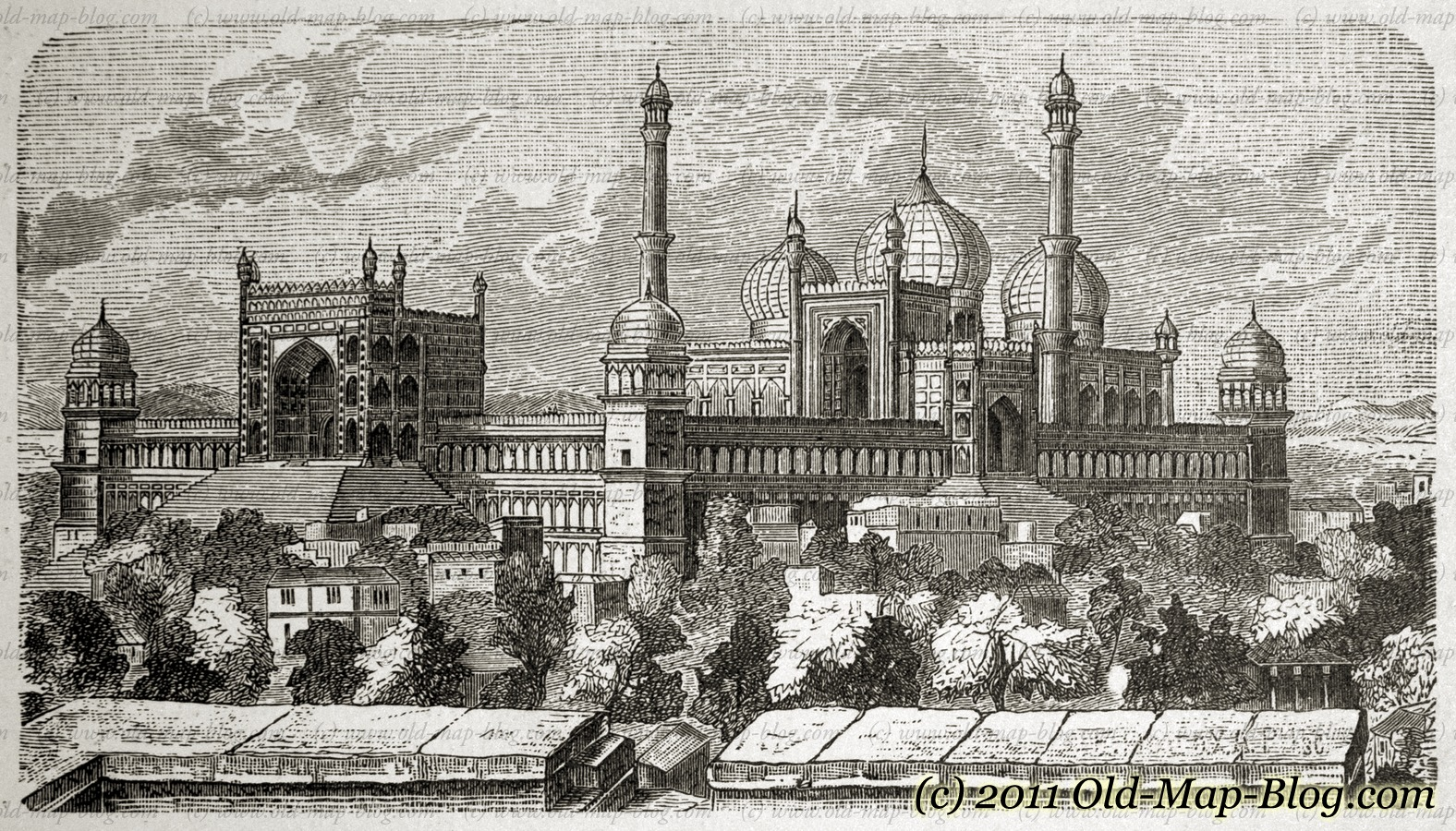 http://www.old-map-blog.com/wp-content/uploads/19th_century_engraving_Mosque_in_Dehlis_illklgeol_201.jpg