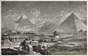 Pyramids_and_Shpinx, Egypt - 19th_century_engraving