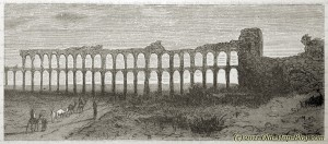 Roman_Aqueduct_in_Tunisia - 19th_century_engraving