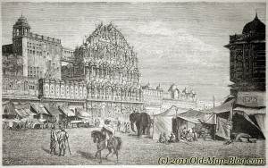 Street_in_Jaipur - 19th_century_engraving