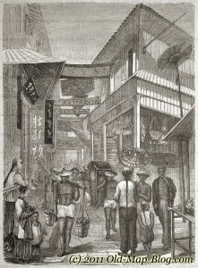 Street_in_Shanghai - 19th_century_engraving