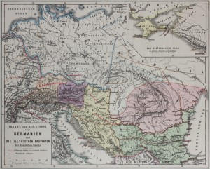 Germany and the Illyrian provinces of the Roman Empire