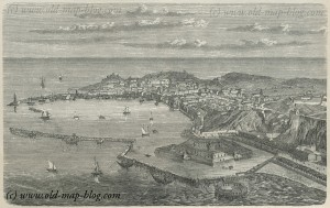 Ancona - Turkey - 19th century print