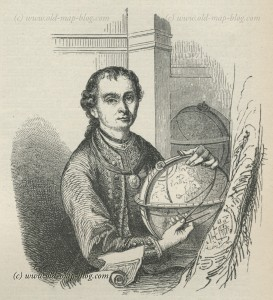 Peter Anich - Geographer - 19th century portrait