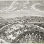 View of Tokio, Japan &#8211; old engraving