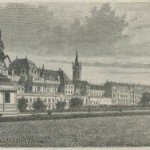 Hofburg &#8211; Vienna &#8211; Austria &#8211; 19th Century Print