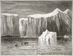 Bassin_Bay_North_America - old_engraving