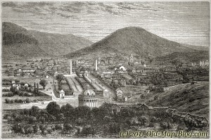El_Tejar_Bolivia - old_engraving