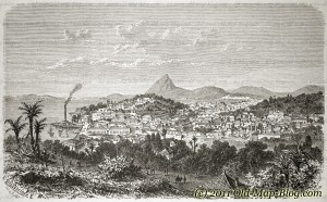 Rio_de_Janeiro_Brasil - old_engraving