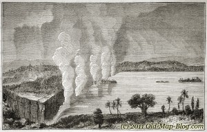 Victoria_Fall, Africa - old_engraving